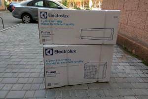 Установка кондиционера Electrolux Fusion EACS-09HF/N3 Одесса Говорова