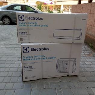 Установка кондиционера Electrolux