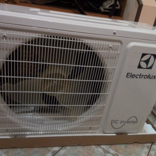 Установка инверторного кондиционера Electrolux