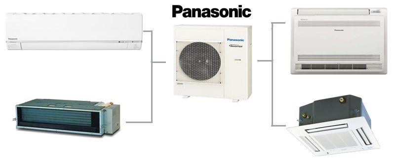 Наружный блок мульти сплит системы Panasonic CU-4E27PBE