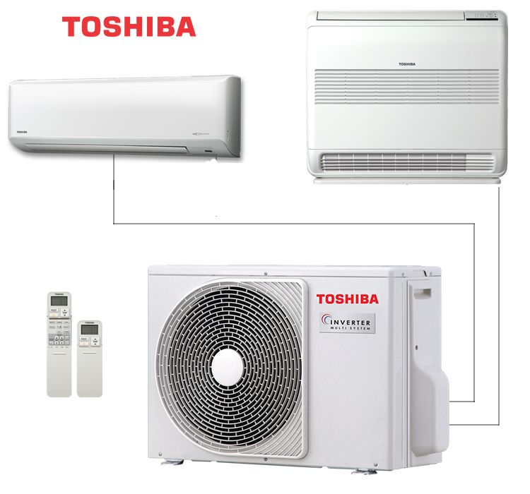 Наружный блок мульти сплит системы Toshiba RAS-M14GAV-E