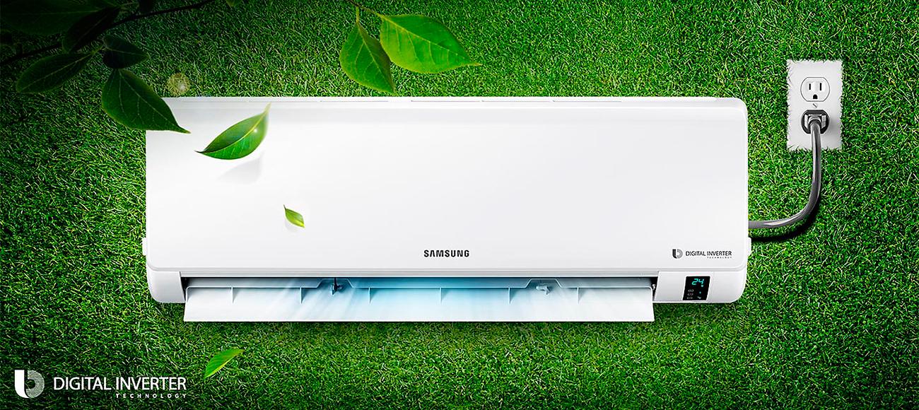 Эффективная работа и экономия энергии Samsung AR09MSFPAWQNER