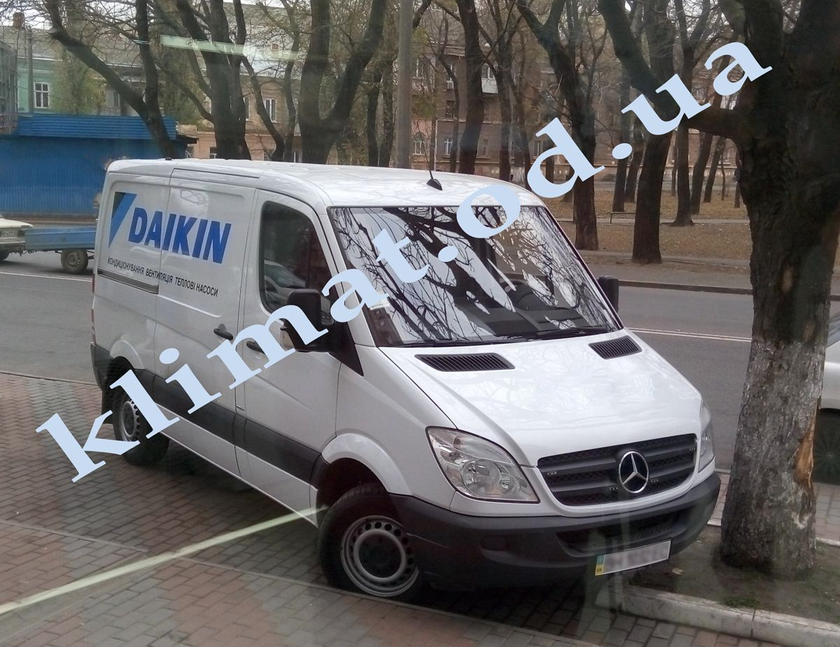 Фирменный автомобиль Daikin Одесса